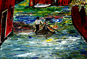 Genoa Painting Prints - Venice Spring Print by Mark Moore