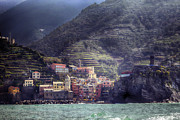 Cinque Terre Framed Prints - Vernazza Framed Print by Joana Kruse