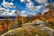Adirondacks Photo Posters - View from the Eagle Bay Rocks Poster by David Patterson