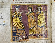 Rioja Prints - Vigilian Or Albelda Codex. 10th C Print by Everett
