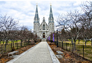 Montgomery Prints - Villanova University Print by Bill Cannon