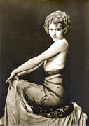 Sensuous Posters - Vintage Nude Postcard Image Poster by Unknown