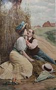 Patricia Hofmeester - Vintage romance in haystack