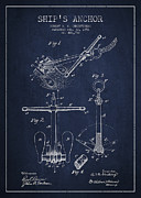 Vintage Ship Anchor Patent From 1892 Print by Aged Pixel