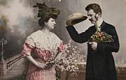 Patricia Hofmeester - Vintage victorian courting.