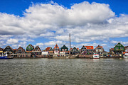 North Sea Prints - Volendam Print by Joana Kruse