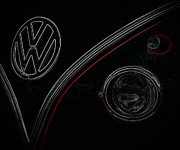 Lowered Prints - Vw Print by Steve McKinzie