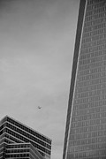 11 Wtc Digital Art Posters - 1 W T C in BLACK AND WHITE Poster by Rob Hans