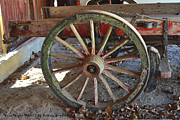 Barbara Snyder Prints - Wagon Wheel 2 Print by Barbara Snyder