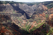 Bryant Prints - Waimea Canyon Hawaii Kauai Print by Roger Bryant