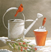 Waiting For Spring Print by Mary Charles