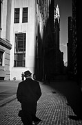 Photojournalism Prints - Wall Street in New York City Print by Ilker Goksen