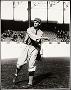 Mlb Metal Prints - Walter Johnson Poster Metal Print by Sanely Great