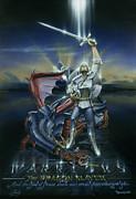 Warriors Dragon Slayer Print by Cliff Hawley