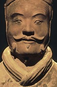 Chin Up Photo Prints - Warriors Of Xian. 221 -206 Bc Print by Everett