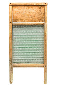 Appliance Framed Prints - Washboard Framed Print by Olivier Le Queinec