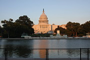Freedom Prints - Washington DC - US Capitol - 011311 Print by DC Photographer