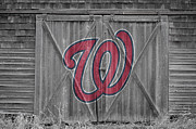 Washington Nationals Framed Prints - Washington Nationals Framed Print by Joe Hamilton