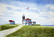 Joan Hartenstein - Watch Hill RI Lighthouse