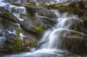 Beautiful Creek Prints - Water in Motion Print by Steve Hurt