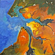 Albatross Paintings - Weipa by Una  Miller