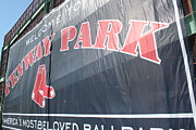 Red Sox Metal Prints - Welcome to Fenway Park Metal Print by Stephen Melcher