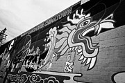 Mural Photos - welcome to vancouver chinatown wall mural Vancouver BC Canada by Joe Fox