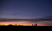 Night Scenes Photos - West Texas Sunset by Melany Sarafis
