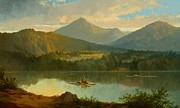 Beautiful Landscape Paintings - Western Landscape by John Mix Stanley