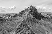 Most Metal Prints - Wetterhorn Peak Metal Print by Aaron Spong