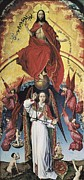 Christ Pictures Prints - Weyden, Rogier Van Der  1400-1464. The Print by Everett
