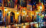 Leonid Afremov - When The City Sleeps