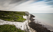 Port Kent Framed Prints - White Cliffs of Dover Framed Print by Ian Hufton