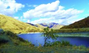 Cloud Mixed Media - Wild and Scenic Snake River - Hells Canyon by Photography Moments - Sandi