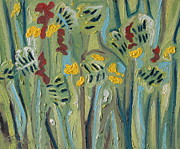 Impressionism Originals - Wild Flowers by Francois Fournier