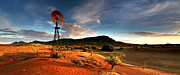 Early Photo Prints - Wilpena Pound Print by Bill  Robinson