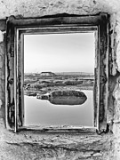 Grain Mill Framed Prints - Window over the marsh Framed Print by Jose Elias - Sofia Pereira