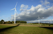 Authority Photos - Windturbines by Bernard Jaubert