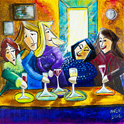 Wine Tour Originals - Wine Buddies The Last Call by Angela Nuttle