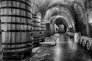 Wine Cellar Photos - Wine Cave by Carol M Highsmith