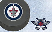 Hockey Art - Winnipeg Jets by Joe Hamilton
