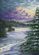 Colleen Ward - Winter Cabin