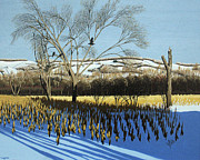 Robert Coppen - Winter Corn and Crows