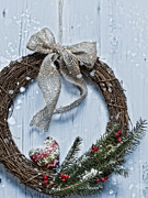 Celebration Art - Winter Garland by Christopher and Amanda Elwell