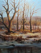 Bill Puglisi - Winter Marsh and Beyond