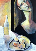 Modigliani Originals - Woman with lemons by Philip Kram