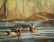 Janet Glatz - Wood Duck Duo