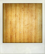 Table Top Photo Framed Prints - Wood texture Framed Print by Les Cunliffe