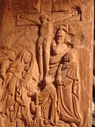 Featured Reliefs - Work in progress - On Calvary by G Peter Richards