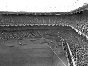 Baseball Fields Photos - World Series In New York by Underwood Archives
